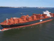 ZIM Container vessel