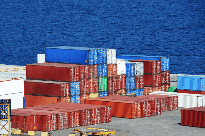 containers in ports