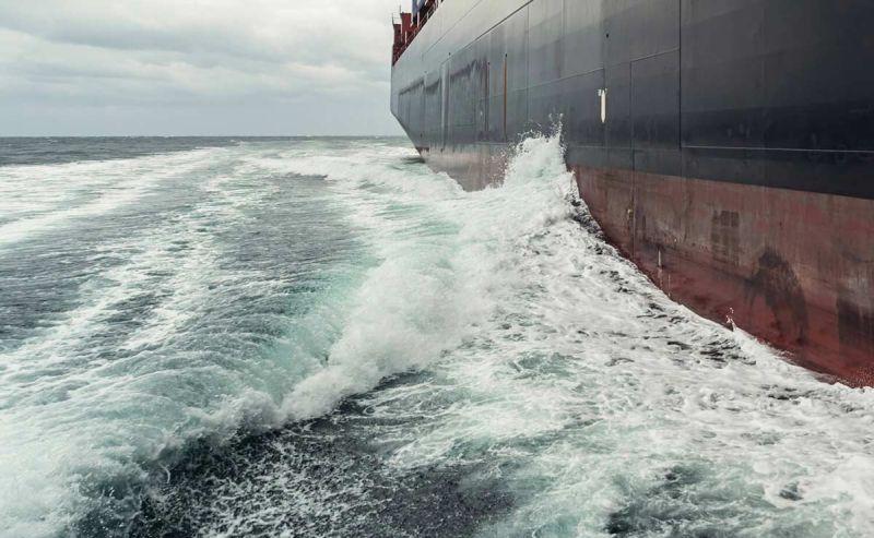 shipping sailing the seas