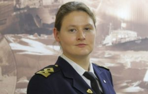 Diana Kidzhi - first female chief mate of russian nuclear icebreaker
