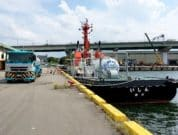 Suppling CNLNG to the LNG-fueled tugboat Ishin