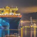 Maersk vessel docked