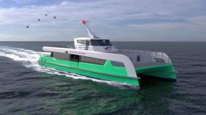 artist-impression-of-shell-bukom-electric-ferry -Shell To Launch Singapore's First Fully-electric Ferry Service