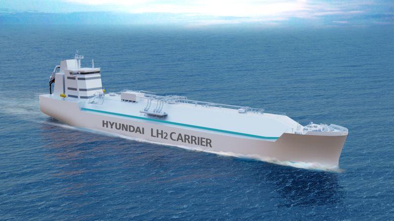 hyundai LH2 carrier