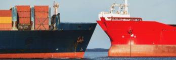 2 Ships Colliding