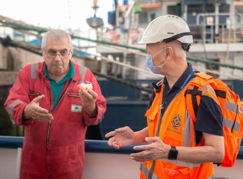 stella maris agent with seafarer