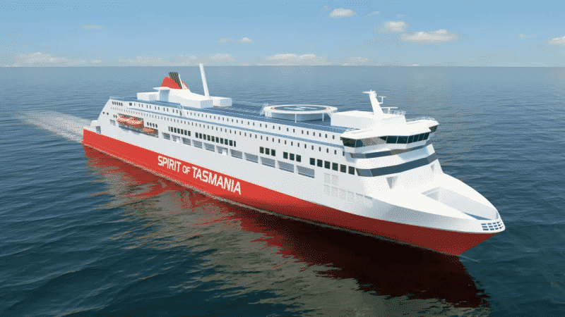 Kongsberg Maritime to supply propulsion and steering gear for two new ferries in Tasmania