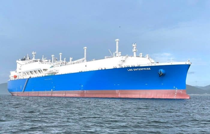 NYK delivers New LNG Carrier to TotalEnergies - Enterprise